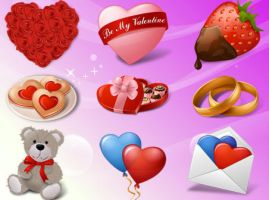 Vista Love Icons Set by FreeIconsFinder