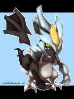 Kyurem BLACK by ashmish