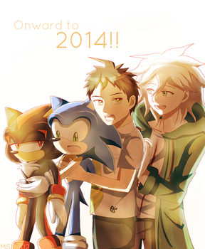 Onward to 2014!! by MSN1412