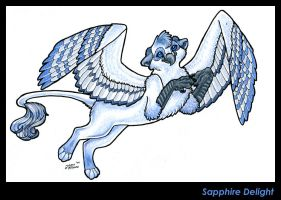 Sapphire Delight by WhiskerWing