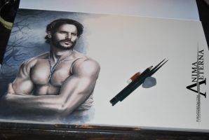 Alcide Herveaux - WIP by AnimaEterna