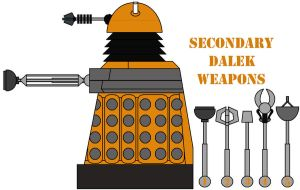 New Secondary Dalek Weapons by Percyfan94