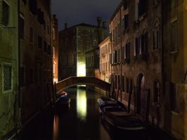 Venice at Night by amipal