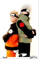 Kakashi and Naruto Cosplay 3 by YukiSumah