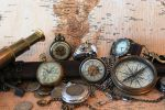Watches And Compass by Vinanti