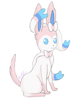 Sylveon by KidaKuro