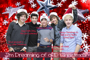I'm Dreaming of a 1D Christmas by iluvlouis