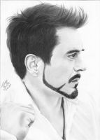 Robert Downey Jr. by Thiago-NightCrawler