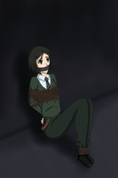 Waver Tied Up by WhiteMageOfTermina