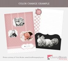 Photographer Template - Thank You Card- A by CherryBloomDesign