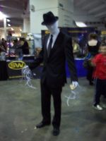 Slenderman Cosplay by Mateless