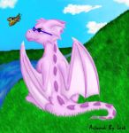 Jasanie and a Butterfly by larksong