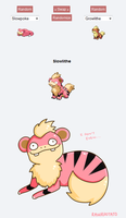 Pokemon Fusion Art Trade: Slowlithe by Ebaroo