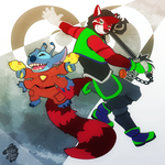 [COM] Keyblades and Phaser Beams by FrostyPuppy