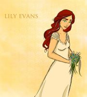 Lily Evans Potter by twirkle