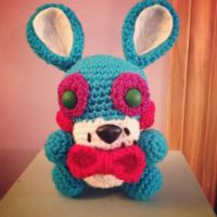 Toy Bonnie - for sale on Etsy by theyarnbunny