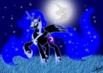 nightmare moon by auveiss