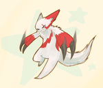 Zangoose by spaded-square