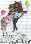 HAPPY BIRDDAY, FARFETTE by peaceluvdolphinz