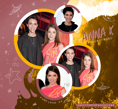 Photopack 26840 - Anna Kendrick y Ruby Rose by xbestphotopackseverr