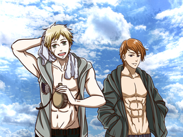 Shingeki no Summer by Aleude