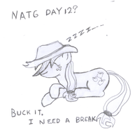 Day 12? Buck It... by littlecolt