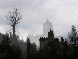 Bran Castle by roxiiis