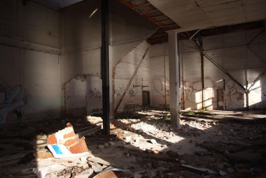 Abandoned Warehouse 4 by Very-Free-Stock