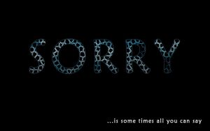 sorry by ultimalitho