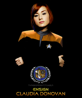 Ensign Claudia Donovan by twisted-illusion-666