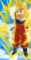El Super Saiyan Definitivo by salvamakoto