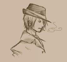 Sanji 1940 by Running-Gecko