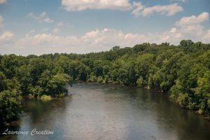 Not so rocky river by LawrenceCreation