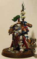 Pre Heresy World Eater Kharn by cyphercodicer2