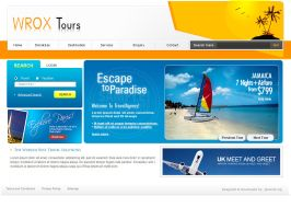 Travel website by devender87