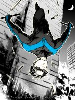Nightwing by Haining-art