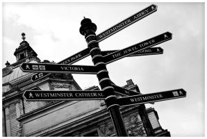 Westminster Sign by edhall