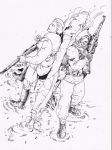 rIFLES sTANDOFF by tanyk