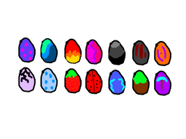 Egg Adoptables by Blooxi