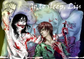 Fan Jeff the killer Liu by Ashiva-K-I