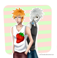 HichiIchi: Strawberry, huh? by miiChaneko