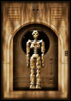Robot at the Gate by brunopic