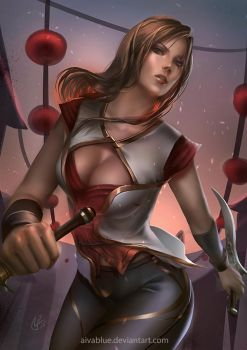 Warring Kingdoms Katarina 2 by AivaBlue