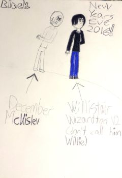 Willistair Wizardton and another guy by ThisGuyNamedBlack