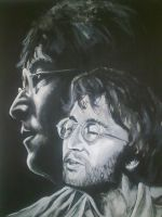 Imagining Lennon 2 by Tanniss