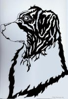 Freehand: Negative Space Drawing by anime-art-girl