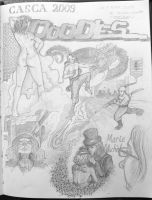 Meeting Doodles, CASCA 09 by sicmentale