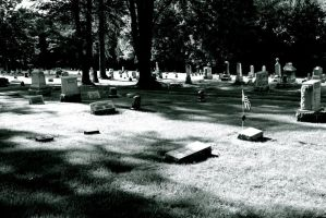 Cemetary by MaryahDPhotography