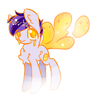 Ghost Pony Adopt **CLOSED** by BlueyedRED
