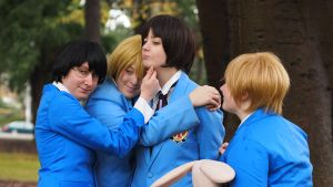 Ouran High School Host Club Group by MFM-Photography